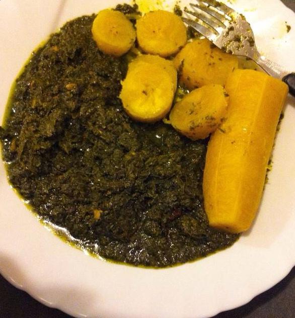 """Résultat de recherche d'images pour """"feuilles de manioc cuisine gabon"""""""
